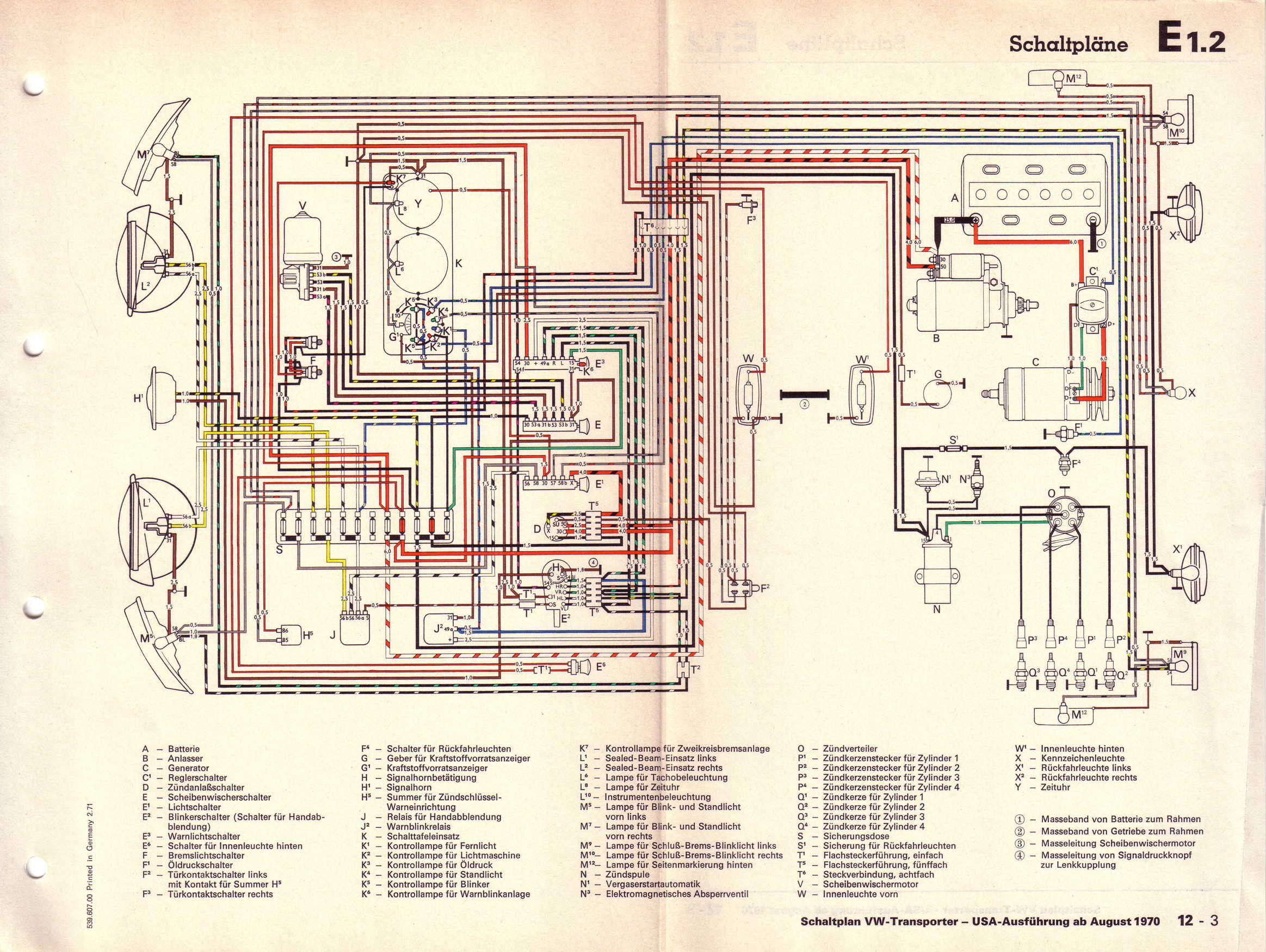 Vw Rabbit Wiring Diagram Electrical Schematics 1979 Bus Behind Fuse Box Schematic Diagrams