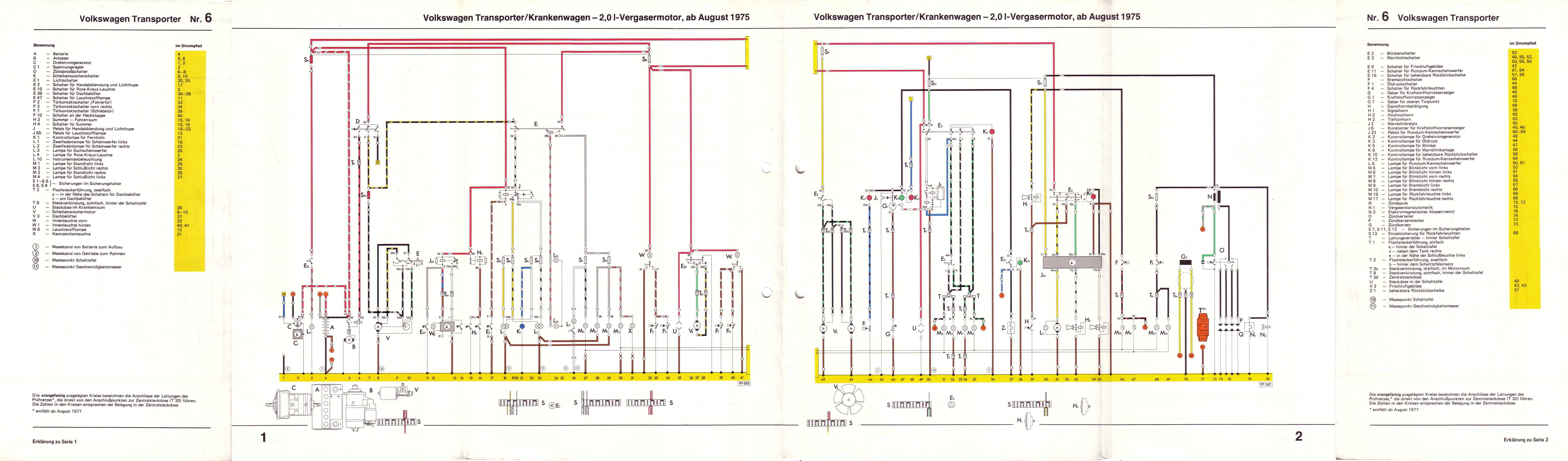 Vw T52 Schaltplan
